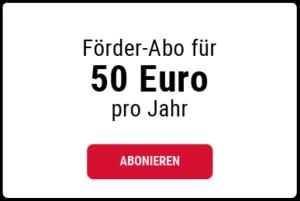 50 Euro Jahresbeitrag wählen